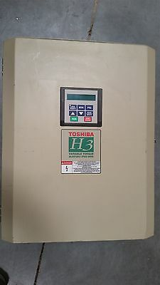 Toshiba Transistor Inverter 50Hp Variable Torque Adjustable Speed Ac Drive H3