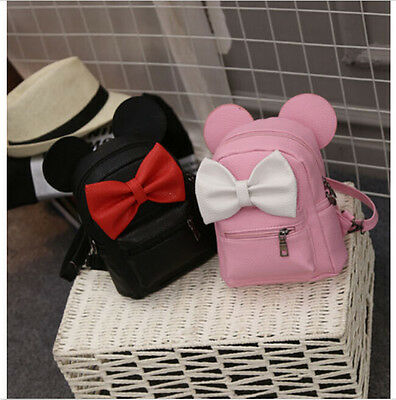 NEW Minnie Mouse Bag Girls Backpacks backpack Cartoon School Bag Mini Bag