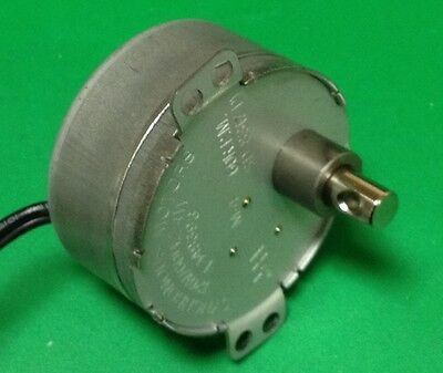 Synchronous Motor 120V AC, 60 rpm, reversing, 4W- 7mm shaft E149393