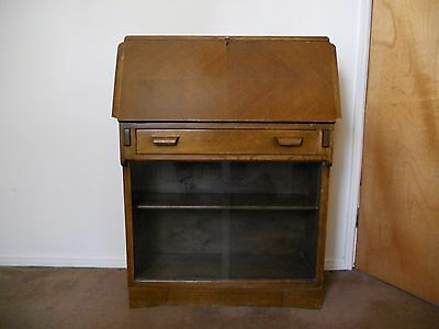 Vintage Bureau/Writing Desk/Bookcase