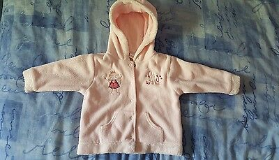 baby Girls fleece jacket age 9/12 months