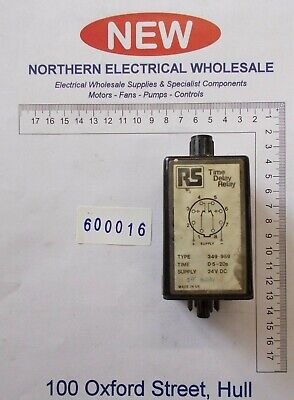 RS 349-989 Single Timer Relay, (600016)