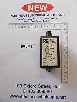 RS 349-894 Single Timer Relay, (600017)