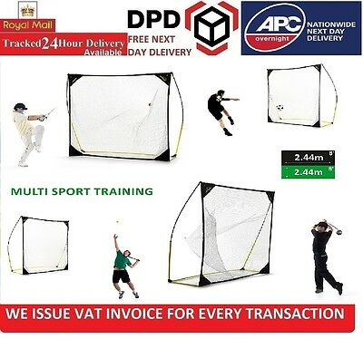 Quickplay Quick-Hit 8X8FT (2.4 X 2.4M) Ultra Portable And Durable Practice Net