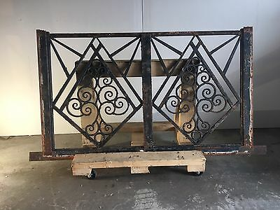 Blacksmith Wrought Iron  Balcony, Railings, Balustrade, Gate Hand Made