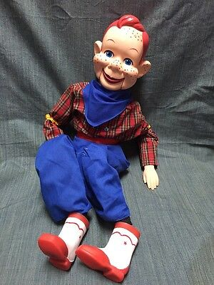 HOWDY DOODY VENTRILOQUIST DUMMY DOLL PUPPET! Vintage 1972