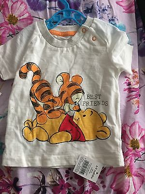 Jeans And Tshirt Size 6-9 Months New George Pooh