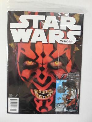 DARTH MAUL Ray Park IN YOUR FACE Cover! Star Wars Insider # 145 SEALED w Promo