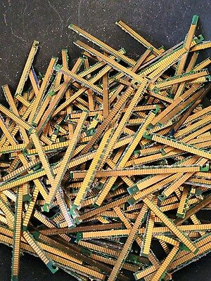 Lot Of 1.0 oz Scrap Gold PC RAM Fingers Gold Fingers Computer Gold Recovery