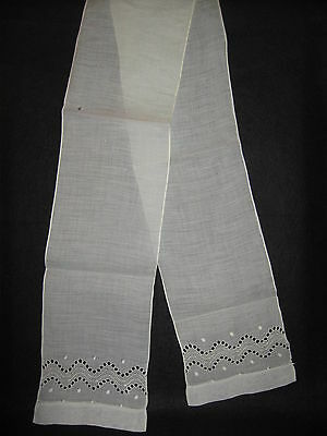LP36 Vintage Linen Crochet Lace Towel Applique Trim Fashion Scarf Collar