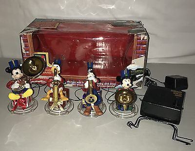 1995 Mickey Mouse Brass Band by Mr. Christmas Animated Musical 21 Songs Tree