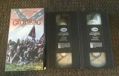 PRE-OWNED GETTYSBURG  (VHS, 1994) VHS CASSETTE TAPE FREE SHIPPING!!! 📦📮l👀k!!!