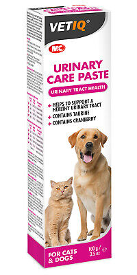 Vet IQ Urinary Care Paste for Cats & Dogs 100g Mark and Chappell