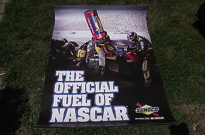 Vintage 2009 Sunoco - The Official Fuel of Nascar - Richard Petty - Large Poster