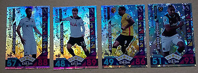 2016/2017 Match Attax All 4 Set Piece Specialist Cards All Listed Topps 16 17