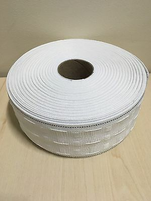 10 METERS CURTAIN HEADING HEADER TAPE~PENCIL PLEAT~75mm (3 Inch) WIDE~UK STOCK