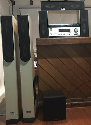 Onkyo TX-SR502 6.1 with 5.1 speakers