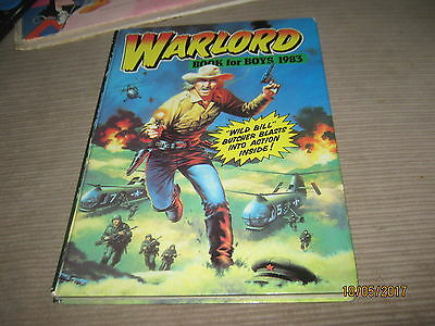 Lot Of 4 Warlord Annuals 1979,1983,1985,1988