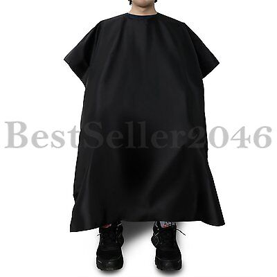 Professional Salon Hair Cutting Nylon Cape Barber Hairdressing Gown for Adult