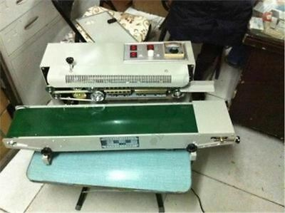 Automatic Vertical Continuous Plastic Bag Band Sealing Machine Sealer FR-900