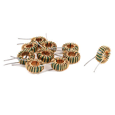 10 Pcs Toroid Core Inductor Wire Wind Wound 3MH 40mOhm 3A Coil Z2M8