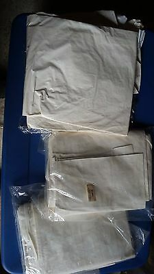 3 - White Tyvek Disposable Suits W/Hood & Boots Size M