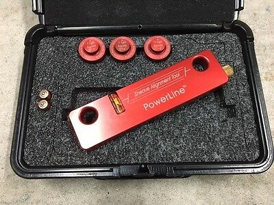Laser Tools Co. Sheave Alignment System with Powerline - Belt Alignment tool
