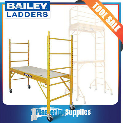 Bailey Scaffold Mobile Steel Scaffolding With Trap Door 450kg FS13565