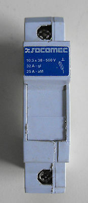 Socomec fuse holder, Din rail, 500v