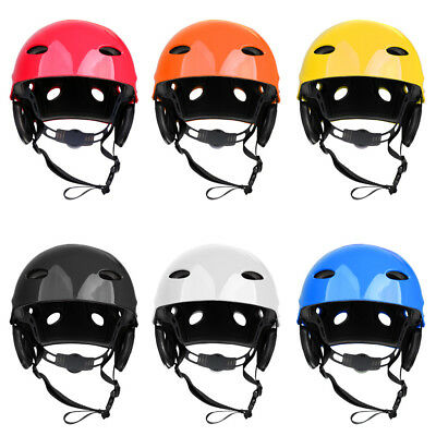 Safety Vented Helmet Kayak Canoe Water Sport Surf SUP Hard Protection Cap Medium