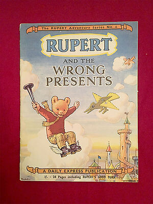 RUPERT Adventure Series No 4 - Rupert and the Wrong Presents - Daily Express
