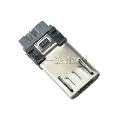 New 20PCS USB Micro 5-pin male Connector Jacks Socket SMD Surface-Mount