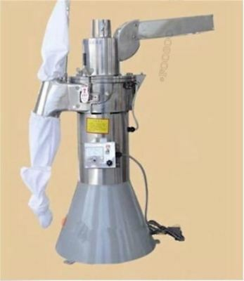 35Kg/H Automatic Continuous Hammer Mill Herb Grinder Pulverizer V