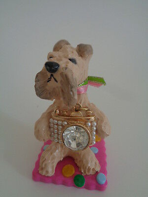 """Ooak~Wheaten Terrier~~Taking Pictures With Camera,,,,""""say Cheese""""***huge Sale***"""