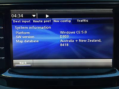 Holden VE, WM, HSV E3, SSV, Calais IQ Sat Nav Map Update MY16 Latest Map