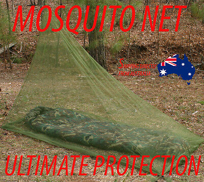 Mosquito Insect Net for camping backpacking travel outdoors army fishing hiking