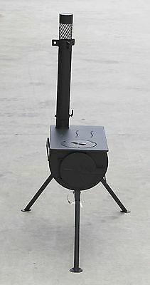 Portable Camping Wood Stove Wood Heater Pot Belly Stove Fire Fireplace