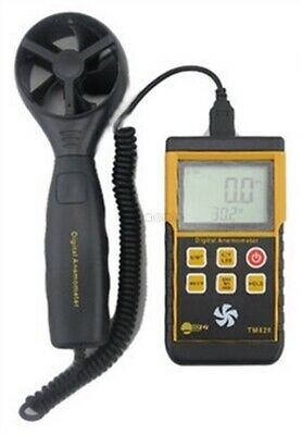 TM826 Digital Lcd Anemometer Wind Speed Velocity Meter Thermomoter Backlight ty