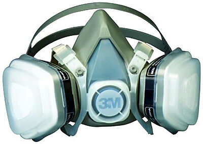 3m Painting Respirator Large, Anti Dust N95 Paint Woodworking Asbestos Face Mask