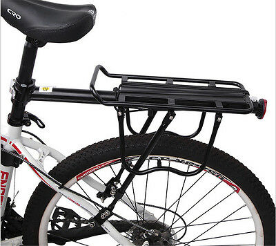 Bike Bicycle Cycling Rear Rack Seat Panniers Bag Luggage Carrier  Heavy Duty