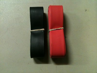 "3/4"" ID / 20mm ThermOsleeve RED/BLACK Polyolefin 2:1 Heat Shrink tubing-10'each"