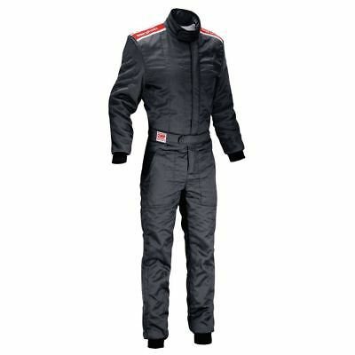 FIA OMP Sport Race Suit Black rally overall motorsport NEW 2017 8856 2000