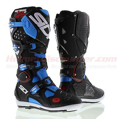 Sidi Crossfire 2 SRS Offroad Boots Blue Black, Fast 'N Free Shipping