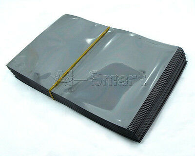 Waterproof Antistatic Metallic Conductive Shield Bag Memory Protection Storage