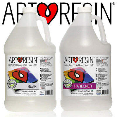 ArtResin® Clear Epoxy Coating Art Resin for Artwork and Photos 8l Pro Kit