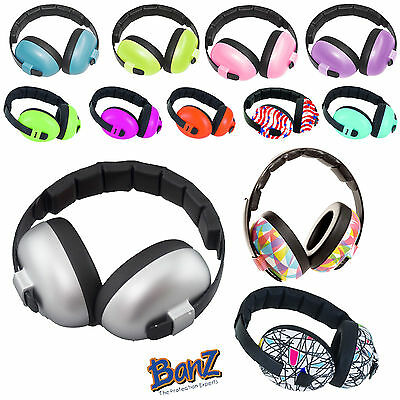 Banz Baby Ear Defenders Toddler Kids Earmuff Hearing Protection Loud Sound 3m+