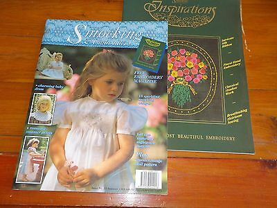 AUSTRALIAN SMOCKING & EMBROIDERY MAGAZINE - PATTERN INCLUDED - ISSUE No 23 1993