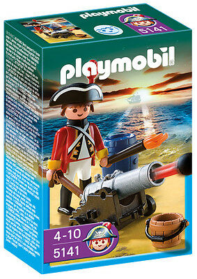 PLAYMOBIL ® 5141 Rotrock Offizier mit Kanone