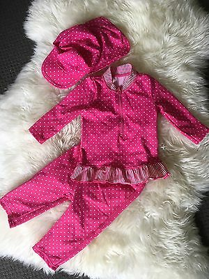 Baby Girls M&S Swimsuit 3-6months