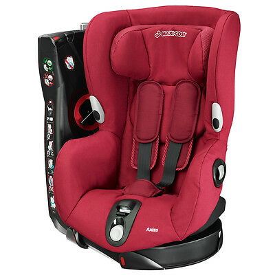 Maxi-Cosi AXISS Group 1 Car Seat B-Graded 2015 in Robin Red RRP£210